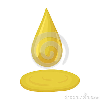 Free A Drop Of Olive Oil.Olives Single Icon In Cartoon Style Vector Symbol Stock Illustration Web. Royalty Free Stock Photography - 92019967