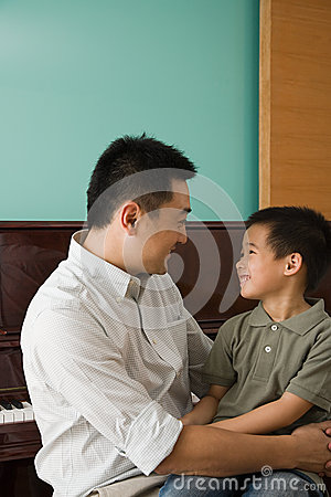 Free A Father And Son Stock Photo - 36095550