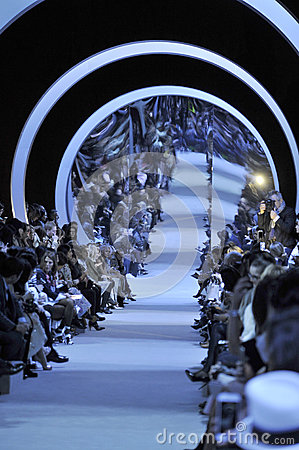 Free A General Atmosphere At The Runway During The Christian Dior Show Royalty Free Stock Image - 68862756