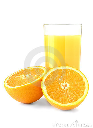 Free A Glass Of Fresh Orange Juice Stock Photo - 3198330