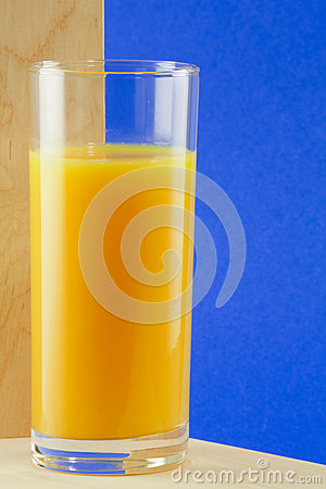Free A Glass With Orange Juice Royalty Free Stock Photos - 30132088