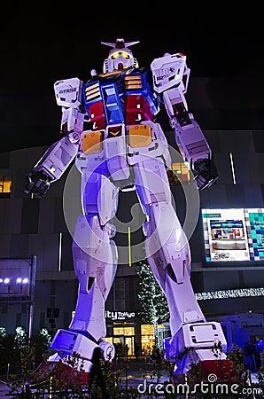 Free A Gundam Life-size Replica, 18 Meters High Stock Photos - 47305203