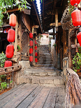Free A Historical Town - Lijiang Royalty Free Stock Images - 2896799