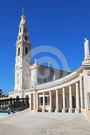 Free A Huge Tower, Topped By A Cross And A Colonnade Royalty Free Stock Images - 24680199