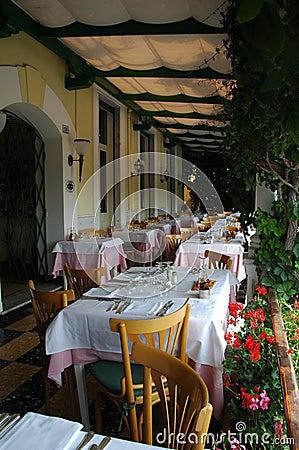 Free A Italian Patio Stock Image - 880361