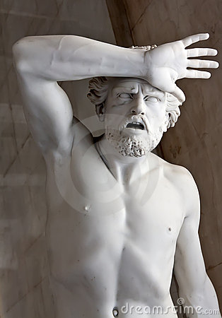 Free A Marble Statue In The Hermitage Museum. Royalty Free Stock Image - 21474926