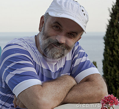 Free A Mature Man With A Beard Royalty Free Stock Photography - 20953777