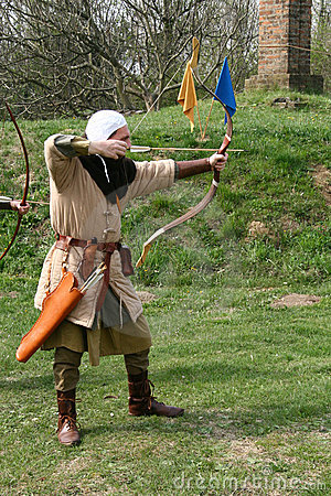 Free A Medieval Archer Stock Images - 4825054