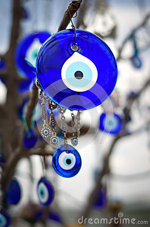 Free A Nazar, Charms To Ward Off The Evil Eye ,  In Cappadocia, Turke Royalty Free Stock Photography - 71526727