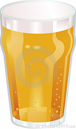 Free A Nice Pint Of Beer Vector Ill Royalty Free Stock Photo - 4960615