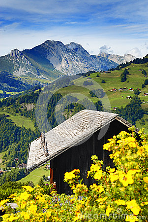 Free A Nice View Of A Chalet Stock Image - 25836351