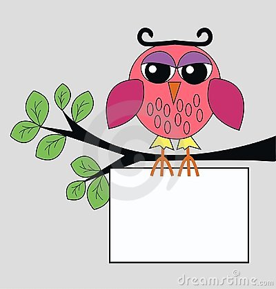 Free A Owl Sitting On A Branch Stock Photo - 18612960