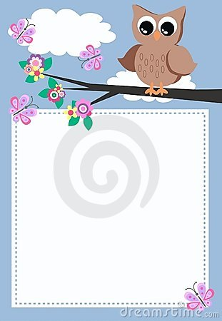 Free A Owl With A Message Royalty Free Stock Photos - 20082018