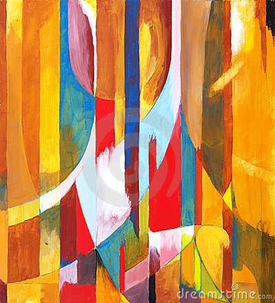 Free A Painting - Orange Sided Stock Images - 24242624