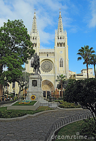 Free A Park In Guayaqui, Ecuador Stock Image - 24219611