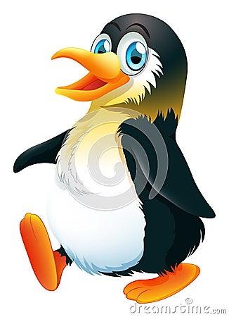 Free A Penguin Walking Stock Image - 37728911