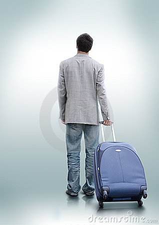 Free A Person Who Decided To Travel Stock Image - 9219171