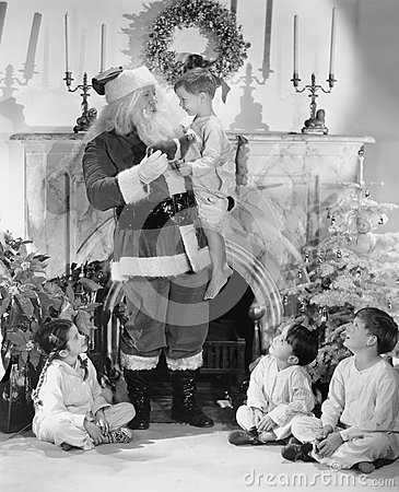 Free A Personal Visit From Santa Claus Stock Photos - 51997833