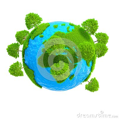 Free A Planet With Trees Growing Stock Photos - 30025043