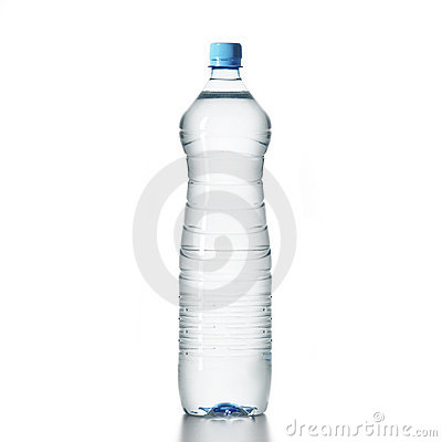 Free A Plastic Bottle Full Of Water Stock Photography - 4762892