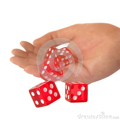Free A Roll Of The Dice Royalty Free Stock Photos - 4027448