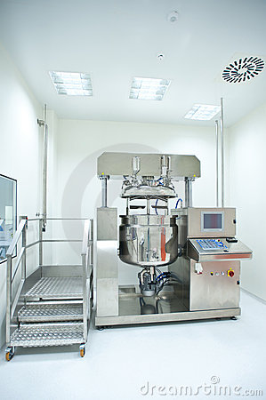 Free A Room With An Equipment For Pill Production Stock Photography - 22623062