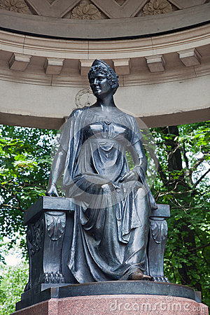 Free A Sculptural Monument To Maria Fiodorovna In Rossi S Pavilion. Stock Photos - 73962103