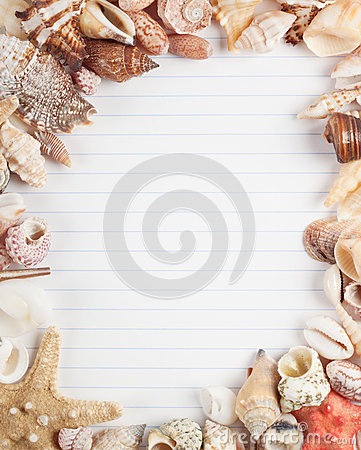 Free A Sheet Of Paper With Stripes Stock Image - 25917911