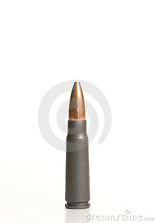 Free A Single Bullet. Royalty Free Stock Photography - 5402637