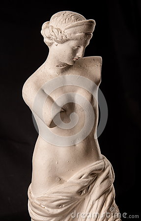 Free A Statue Of Venus, Plaster Stock Photo - 85362390