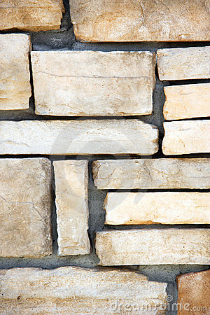 Free A Stone Block Wall Royalty Free Stock Images - 4875039