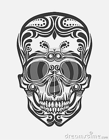 Free A Stylized Skull Royalty Free Stock Image - 12203626