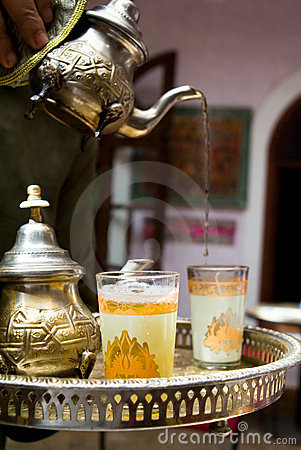 Free A Tea Cup In Marrakech Stock Images - 2454274