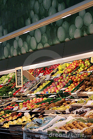 Free A Variety Of Vegetables At A Grocery Store Royalty Free Stock Image - 1497136