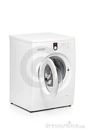Free A View Of A Washing Machine Stock Photo - 19199760