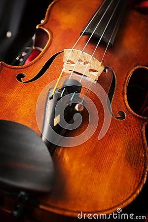 Free A Violin In Violin Case Royalty Free Stock Image - 4778176