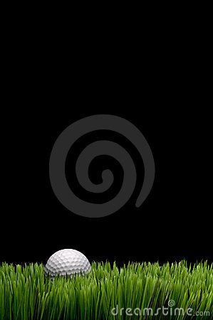 Free A White Golf Ball In Green Grass Stock Photo - 9129610