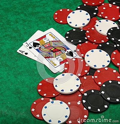 Free A Winning Blackjack Hand Stock Photo - 10768630