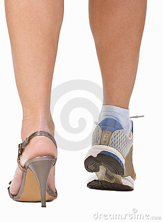 Free A Woman S Legs Stock Photography - 4536422