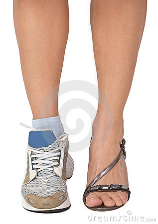 Free A Woman S Legs Royalty Free Stock Images - 4536459
