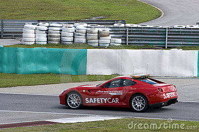 A1GP Safety Car Editorial Photography