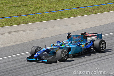 A1GP - Team India Editorial Stock Photo
