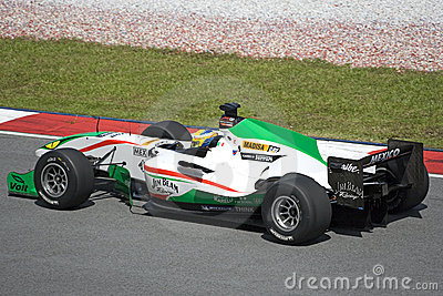 A1GP - Team Mexico Editorial Stock Image
