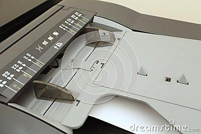 A3, A4, A5, B4, B5, B6 on laser copier