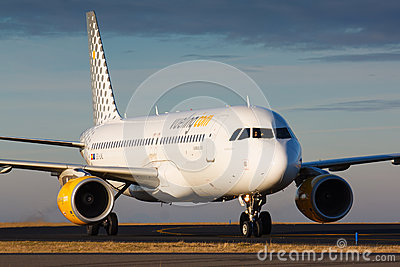 A320 Vueling Editorial Stock Image