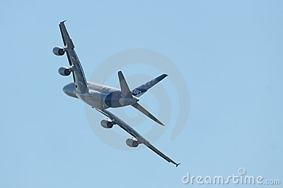 A380, achtermening Redactionele Fotografie