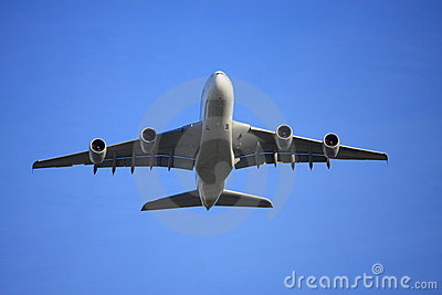 A380 flying low