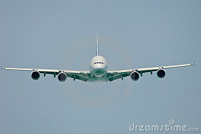 A380 Frontal View