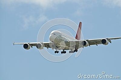A380 królewiątek nieba