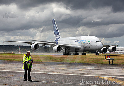 A380 The Super Jumbo Editorial Image